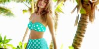 Get Your Retro Glam on with These High Waisted Bikinis